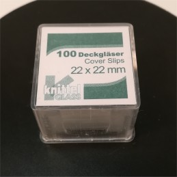 Lamelles 22x22 boite de 100