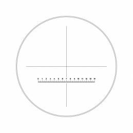 Réticule Ø25mm croix avec...