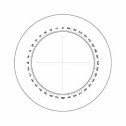 Réticule Ø25mm cercle avec...